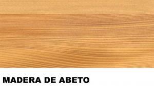 abeto madera