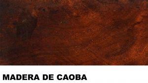 caoba madera