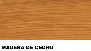 cedro madera