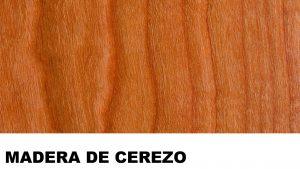 cerezo madera