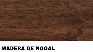 nogal madera