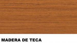 teca madera