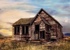 foto de casa de madera
